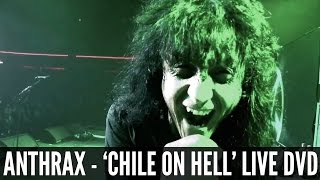 ANTHRAX present the official trailer for their new live DVD, 'Chile...