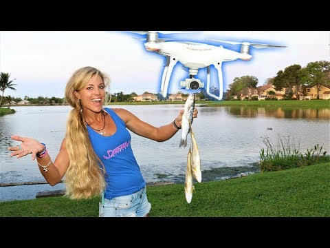DRONE FISHING; How Many FISH Can a Drone LIFT?