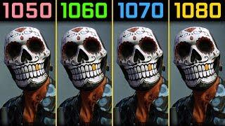 Payday 2 GTX 1050 Ti vs. GTX 1060 vs. GTX 1070 vs. GTX 1080 [1440p]