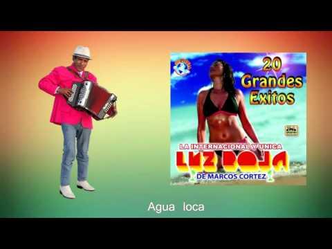 Agua loca / Luz Roja de Marcos Cortez / CD 20 éxitos