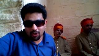 Rajisthani song, Mehrangarh Fort, Sarangi