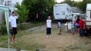 Varna Bulgaria Camping: Dan and the French Kids