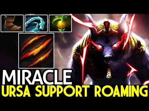 Miracle- [Ursa] Don't Try This Ursa Support Roaming Gameplay 7.21 Dota 2 thumbnail
