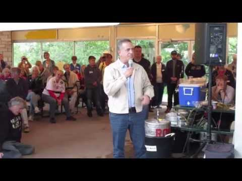 Russ Feingold at Outagamie County Dems Corn Roast 2015