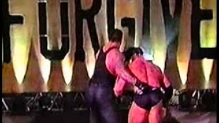 Undertaker vs Brock Lesnar WWE UNFORGIVEN 2002