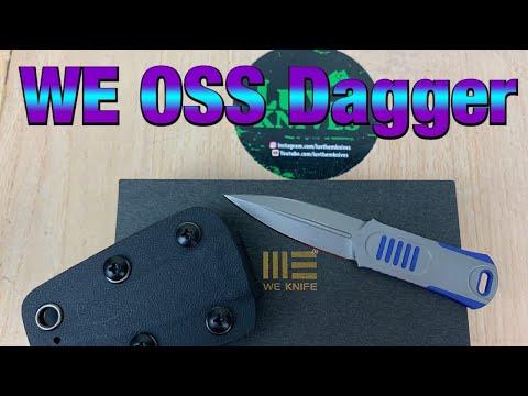 WE OSS Dagger review & Civivi Kiri Neck knife comparison !