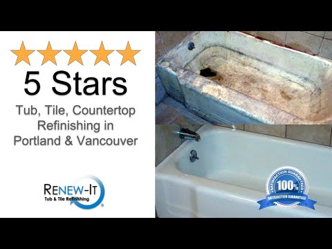 Best Tub Refinishing in Eugene, OR Guaranteed 541-636-9539