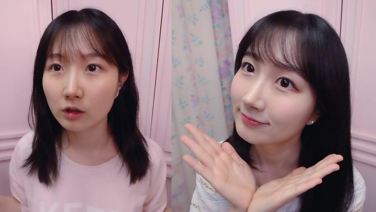 말 많고 의식의 흐름 가득한 데일리 메이크업 ASMR 💄 | 화장법, 렌즈 소개, 쇼앤텔 | 한국어 ASMR , ASMR Korean