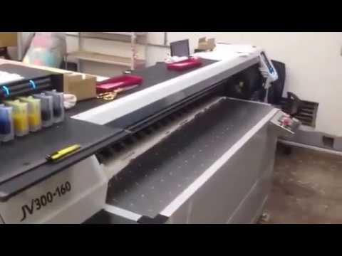 2016年,大尺寸棉布噴印機