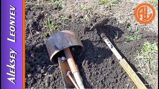 Бур своими руками. Бур и разбуриватель для ручного бурения. / Homemade earth auger. Earth drill