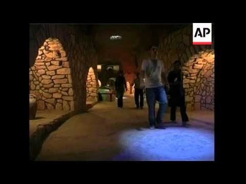 Scores of tourists flock to ancient underground city