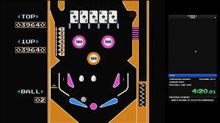 SPEEDRUN - Pinball, 100K Game A - 10:30.010