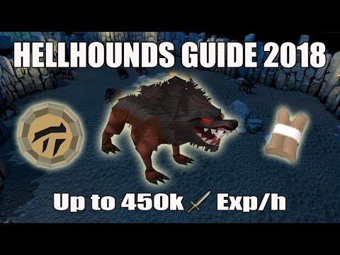 [Runescape 3] Hellhounds Guide 2018 | AFK Melee Exp | Farming Hard Clues
