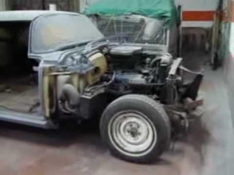 "Cadillac'55 ""Fargo Old Lady"" - W.I.P.  2"