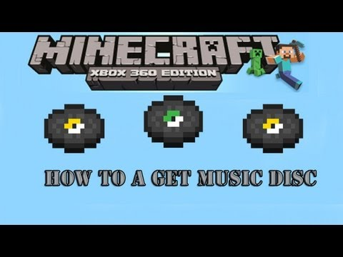Minecraft Xbox 360 Edition: How To Get A Music Disc