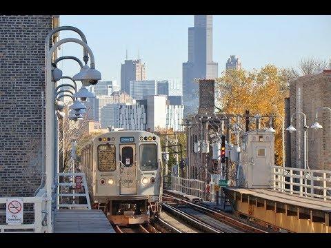 Railfan Window - Chicago Blue Line - Jackson to O