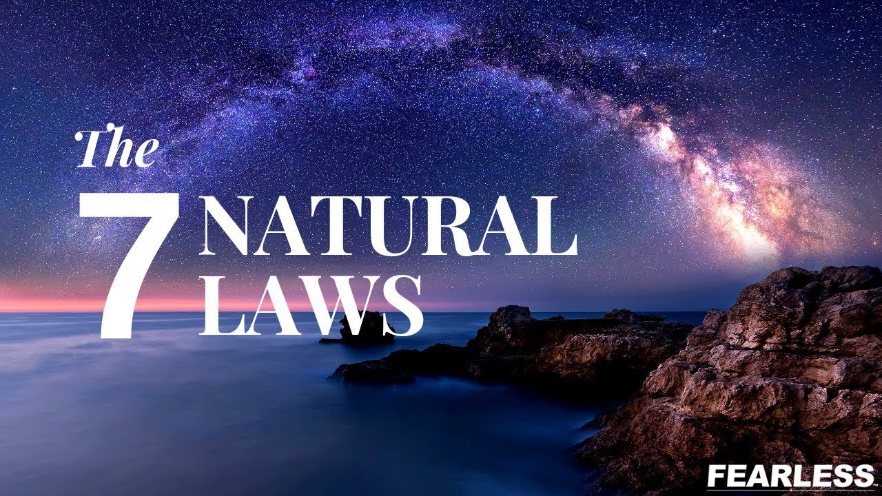 Download The Seven (7) Natural Laws of The Universe - Manifesting Success in Your Life - The Fearless Man
