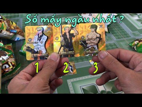 Thẻ Toonies One Piece Film Gold   Bóc Bánh One Piece Phiên Bản Điện Ảnh #2   Đại Luffy