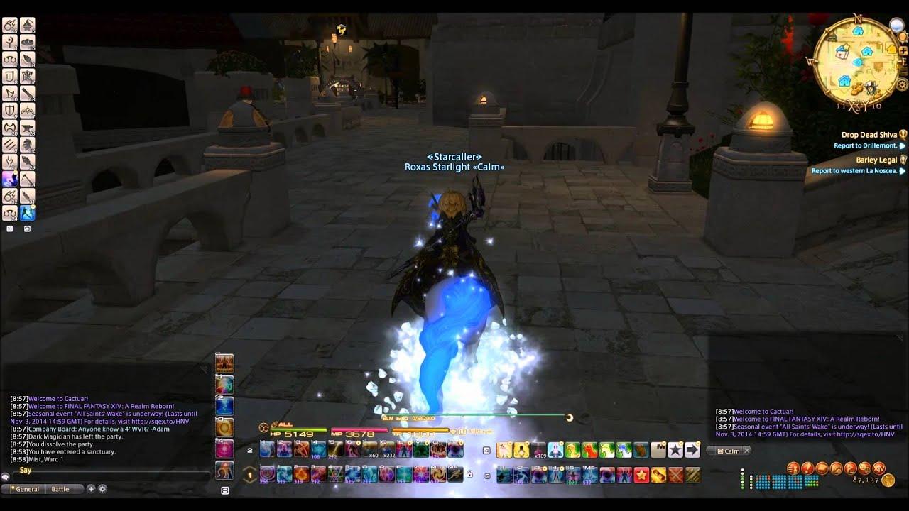Boreas (Shiva horse) Final Fantasy 14