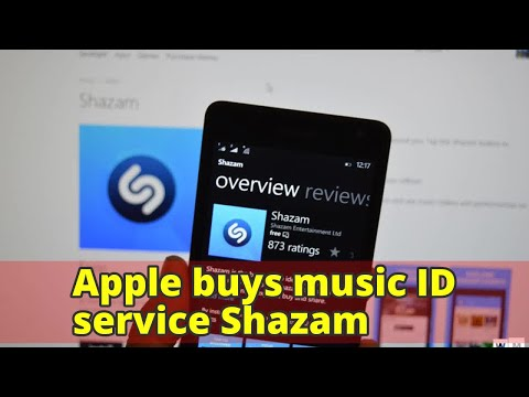 Apple buys music ID service Shazam