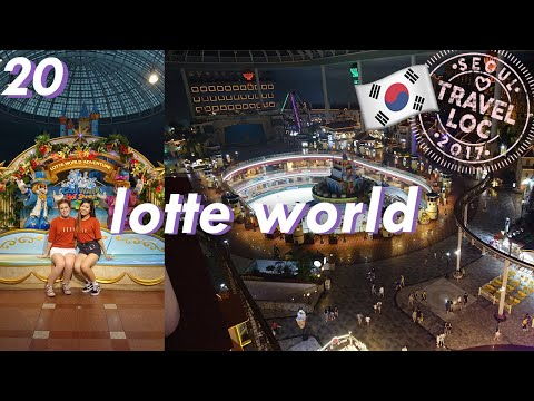 Going to Lotte World! // Seoul Travel Log XX