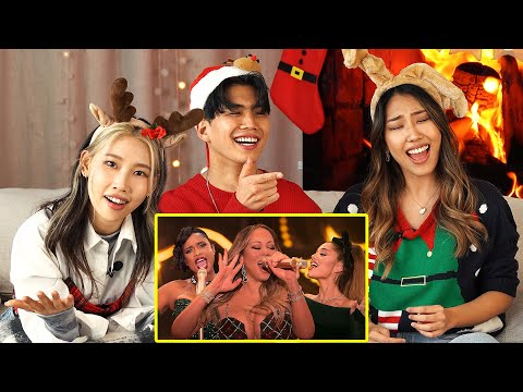 Mariah Carey – Oh Santa! Ft. Ariana Grande, Jennifer Hudson – KOREANS REACT TO THE HIGH NOTE QUEENS
