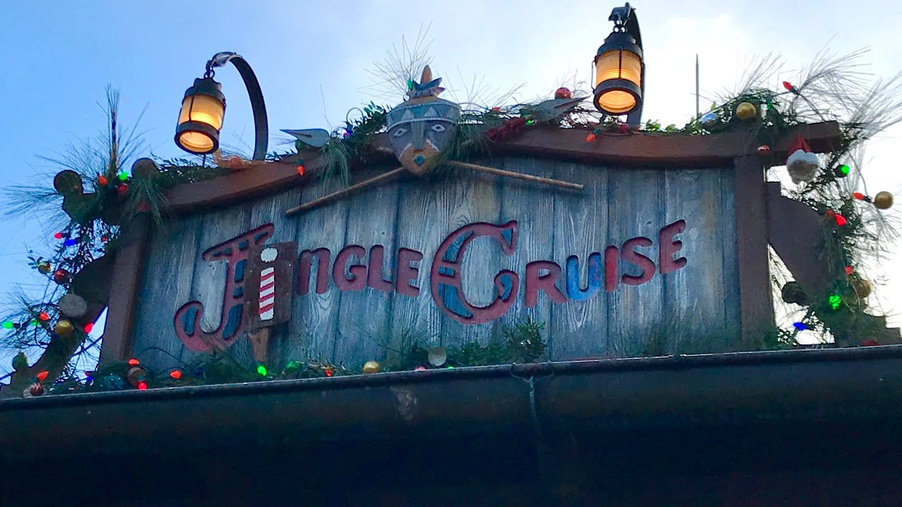 Jingle Cruise 2018 - Full POV Ride | Mickey's Very Merry Christmas Party