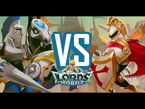 Lords Mobile Fight Scene 6-6 Gameplay