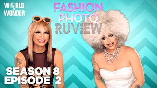 RuPaul's Drag Race Fashion Photo RuView with Raja and Raven Season 8 Episode 2 | Bitch Perfect