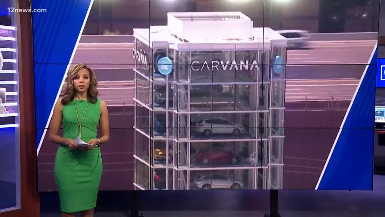 Car vending machine in Tempe - YouTube