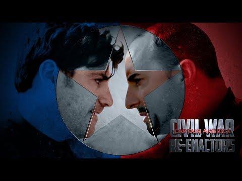 Captain America: Civil War Re-enactors