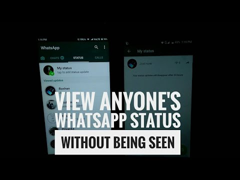 View Anyones Whatsapp Status Without Them Knowing