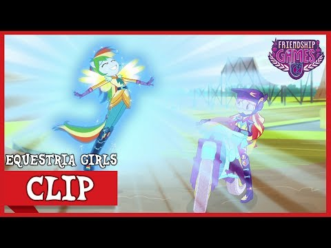 The Tri-Cross Relay: Rainbow Dash's Loyalty | MLP: Equestria Girls | Friendship Games! [HD]
