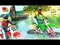 Bike Racing Games - Beach Water Surfer Bike Racing - Gameplay Android free games