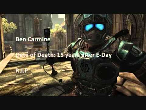 Gears Of War Carmine Brothers Tribute YouTube