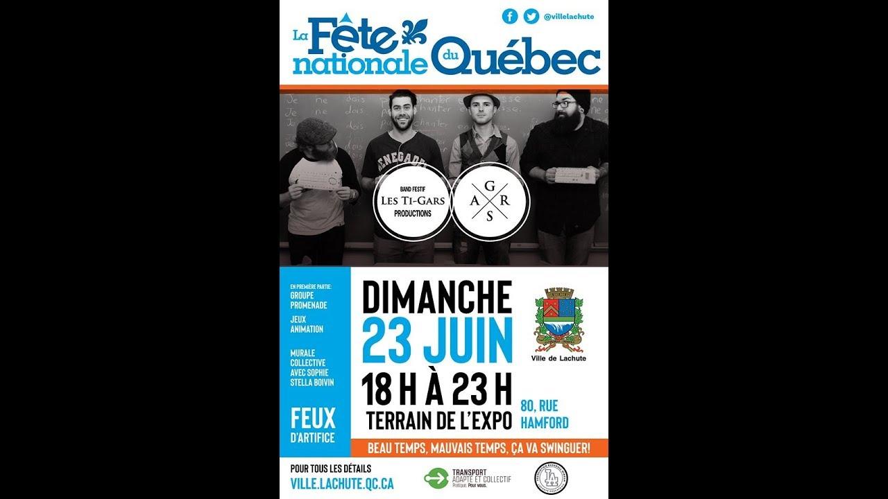 Fête nationale du Québec à Lachute 2019!