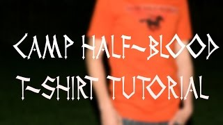 PERCY JACKSON COSTUME TUTORIAL| Halloween HandBOOK