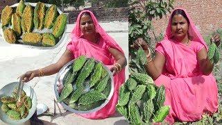 इस नए तरीके से भरवां करेला बनाये तो खाने से कोई मना नहीं करेगा   stuffed karela recipe in hindi