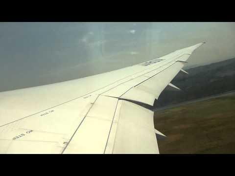 All Nippon Airways (ANA) Boeing 787 JA801ATakeoff at Okayama