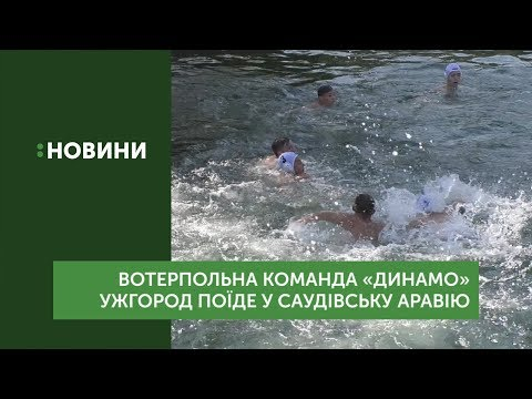 Команда з водного поло «Динамо» Ужгород поїде в Саудівську Аравію