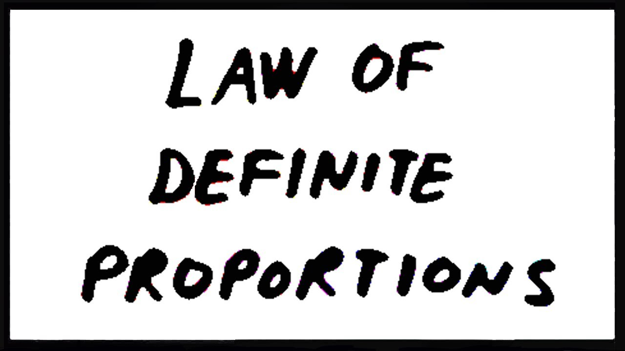 math worksheet : law of definite proportions  youtube : Law Of Definite And Multiple Proportions Worksheet