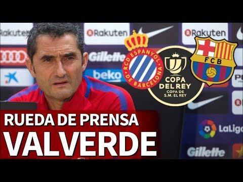 Espanyol-Barcelona| Rueda de prensa de Valverde | Diario AS