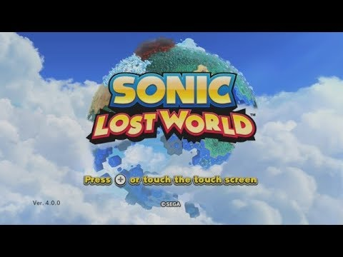 Let's Play Sonic Lost World! (Part 1)