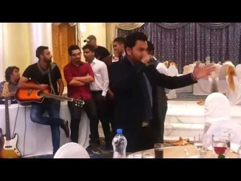 Rob from Radio Mirchi UAE, surprises Maliha with a song on her baraat night!