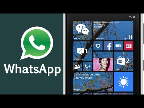 584c00a6fac Como instalar o Whatsapp no Windows Phone - YouTube