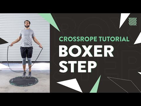 Jump Rope Exercise Tutorial - Boxer Step [Crossrope]