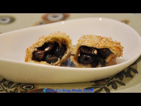 Cypriot Olive Pies – Eliopites Kypriakes – Κυπριακές Ελιόπιτες