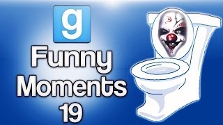 Gmod Ep. 19 Prop Hunt (Killer Toilets, Prop Shadows, Best Clip Ever!)