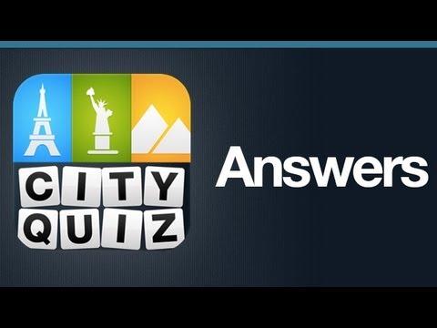 City Quiz Answers Level 47
