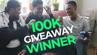 CHUNKZ AND YUNG FILLY PLAY FIFA WITH 100K GIVEAWAY WINNER!